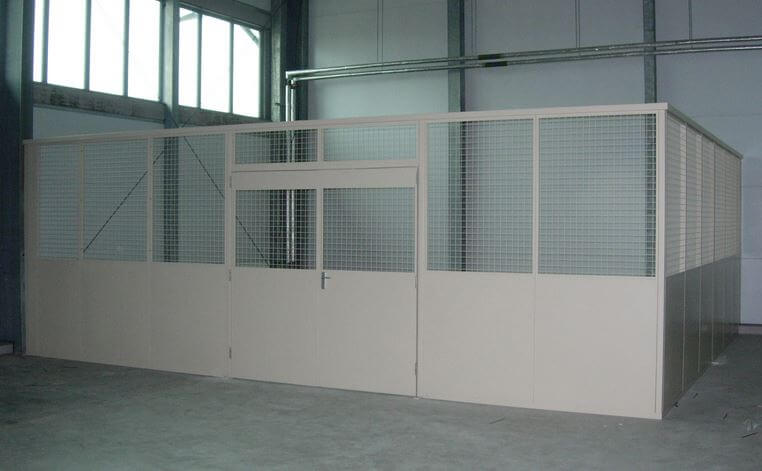Industrial Steel Partitions